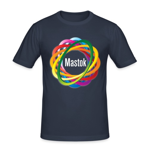Mastok's Logo - Männer Slim Fit T-Shirt