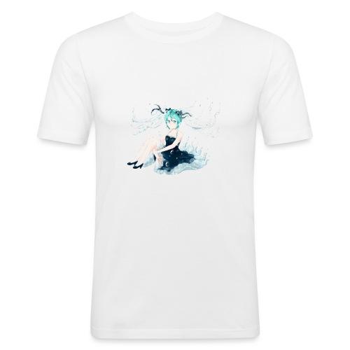 Water Miku O.C. - Maglietta aderente da uomo