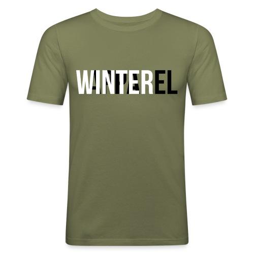 Winter Apparel Logo - Herre Slim Fit T-Shirt