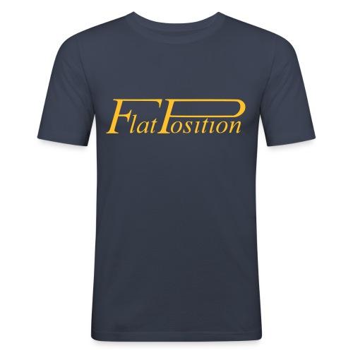 FP Schriftzug - Männer Slim Fit T-Shirt