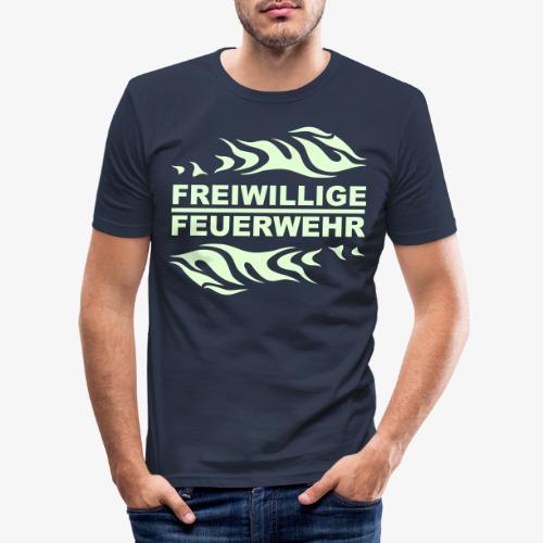 FFW Flame - Männer Slim Fit T-Shirt