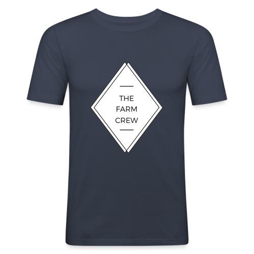 The farm crew - Männer Slim Fit T-Shirt