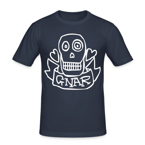 gnarr - Mannen slim fit T-shirt