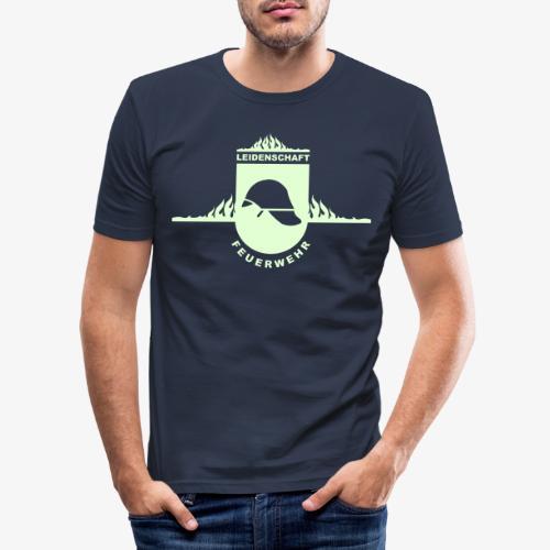 Leidenschaft Feuerwehr - Männer Slim Fit T-Shirt