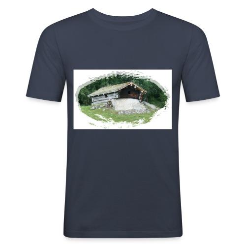 ivarstua d1 - Slim Fit T-skjorte for menn