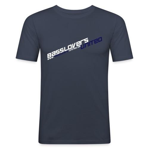 blu3 - Männer Slim Fit T-Shirt