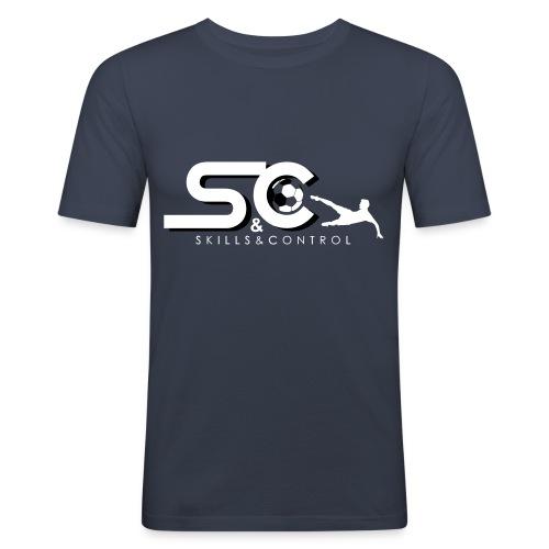 Skills&Control - Mannen slim fit T-shirt
