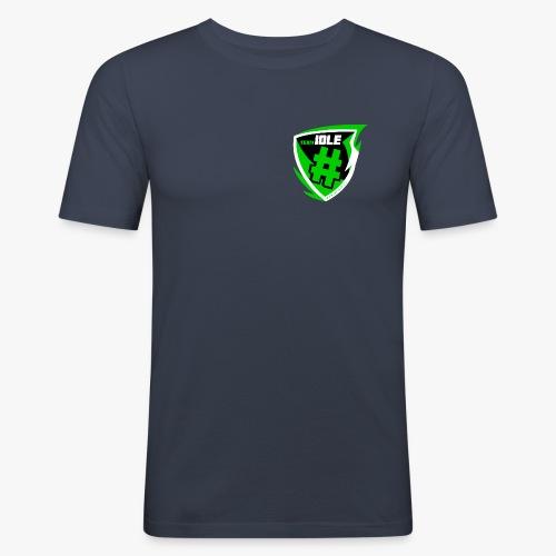 teamidle_logo_4000px - Männer Slim Fit T-Shirt