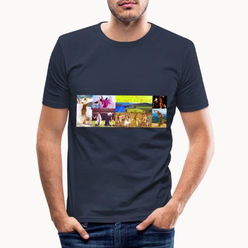 Locandina #festivalflussidionde - Maglietta aderente da uomo