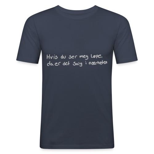 Salg løpe - Slim Fit T-skjorte for menn
