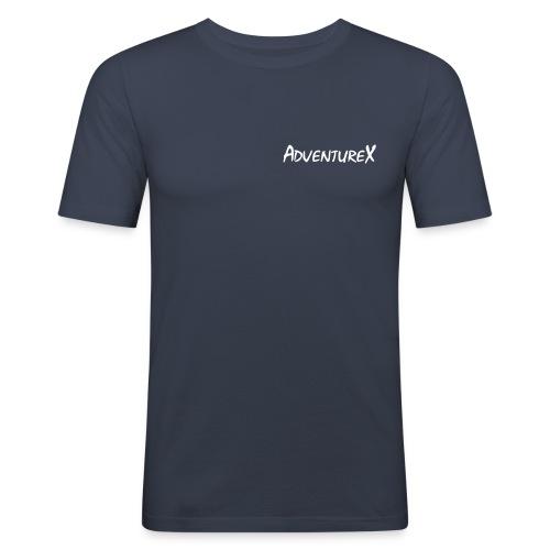 adventurex logo - Men's Slim Fit T-Shirt