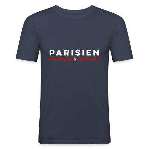Parisien Honneur Loyauté - T-shirt près du corps Homme