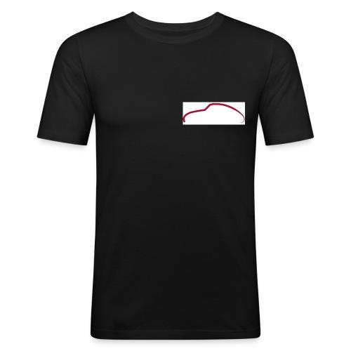 profil 356 rouge - T-shirt près du corps Homme