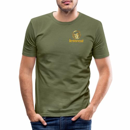 Leverest-Mode - Männer Slim Fit T-Shirt