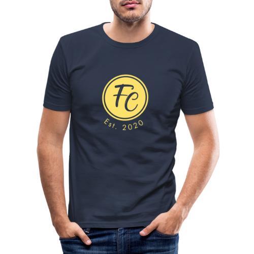 California Logo Original - Männer Slim Fit T-Shirt