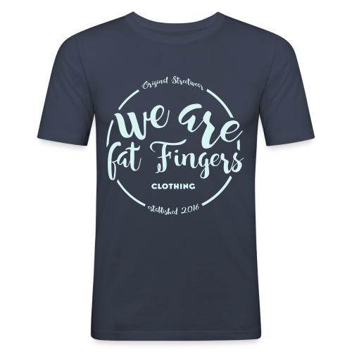 Fat Finger - Mannen slim fit T-shirt
