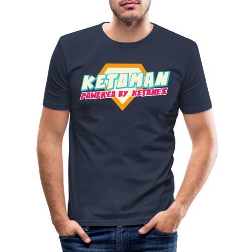 Keto Shirt Mann Diät - Männer Slim Fit T-Shirt