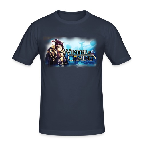 Overwatch and GameOfThrones Fusion - Men's Slim Fit T-Shirt