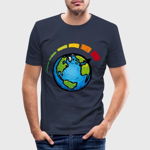 Urgence Climatique - T-shirt près du corps Homme