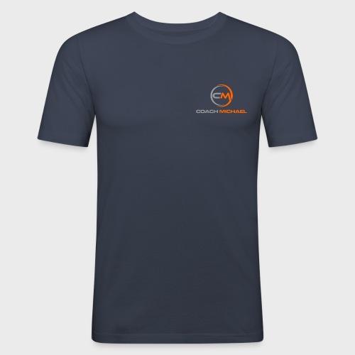 Coach Michael Personal Training & Coaching - Männer Slim Fit T-Shirt
