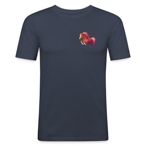Cory the Pony - Männer Slim Fit T-Shirt
