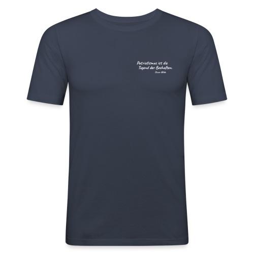 Patriotismus - Männer Slim Fit T-Shirt
