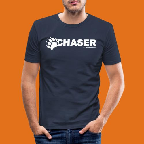 chaser by bearwear new - Men's Slim Fit T-Shirt