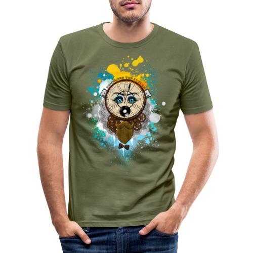 Remember the futur Souviens toi du futur - T-shirt près du corps Homme