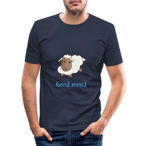Nadège le petit mouton blanc - T-shirt près du corps Homme