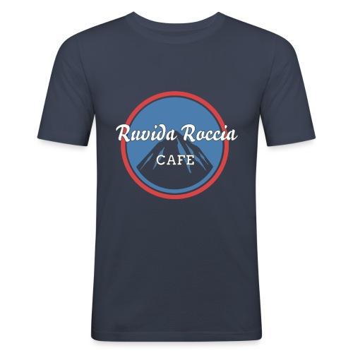 Ruvida Roccia - Maglietta aderente da uomo