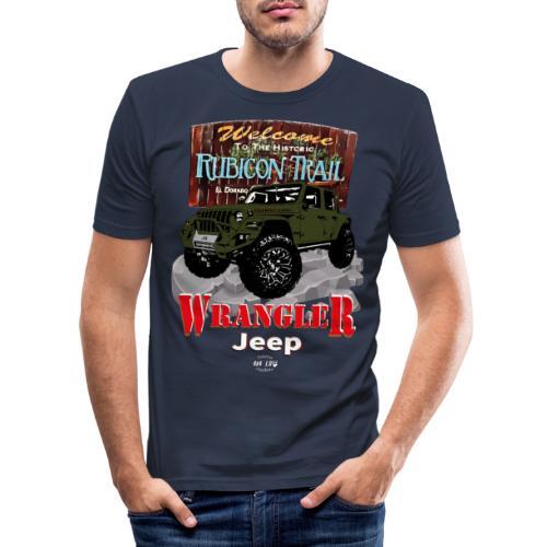WRANGLER Rubicon Trail - Camiseta ajustada hombre