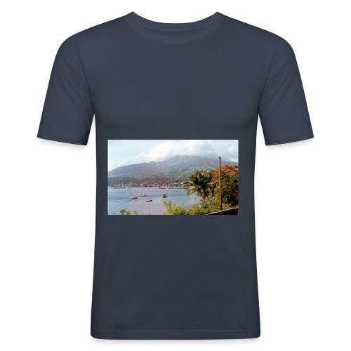 SAINT PIERRE9722 JPG - T-shirt près du corps Homme