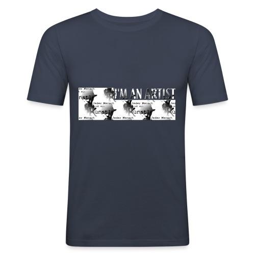 I'M AN ARTIST - Männer Slim Fit T-Shirt