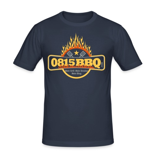 0815BBQ-Girly-Shirt-Kids - Männer Slim Fit T-Shirt