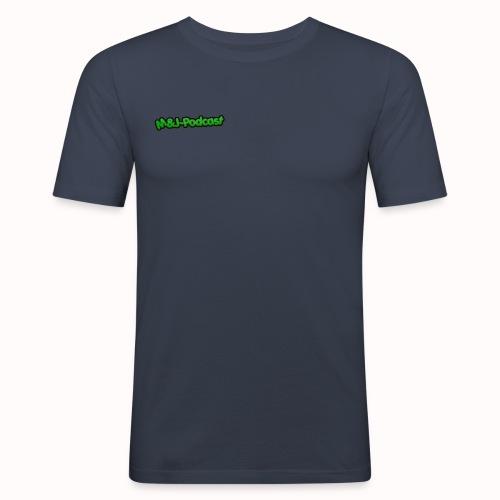 Michael & Jesper - Podcast (Deluxe) - Herre Slim Fit T-Shirt