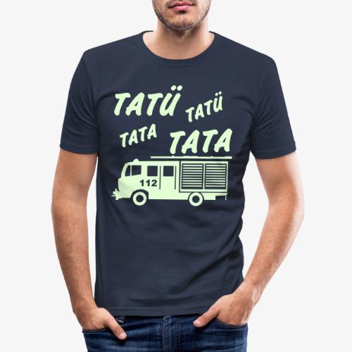 Tatü Tata - Männer Slim Fit T-Shirt