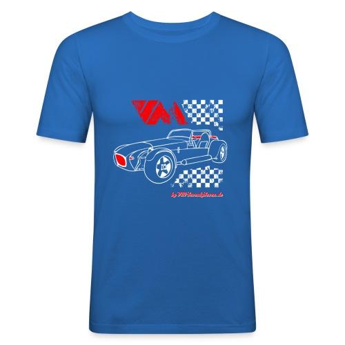 77 vm - Männer Slim Fit T-Shirt