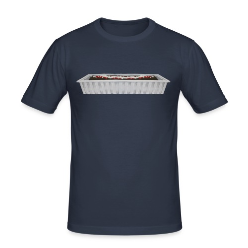 frikandel - Mannen slim fit T-shirt