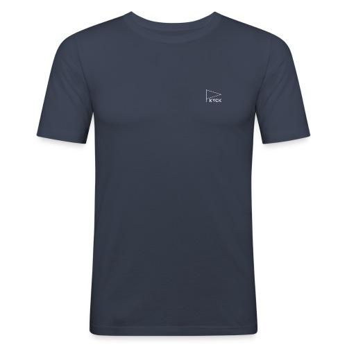 KYCK - element navy - Männer Slim Fit T-Shirt