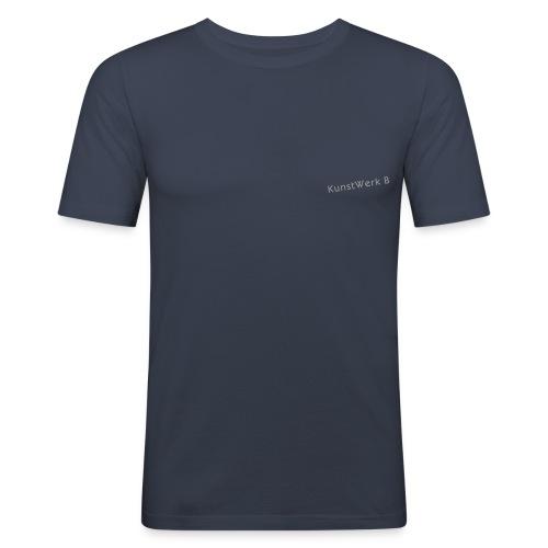 schriftzug kwb 1c - Männer Slim Fit T-Shirt