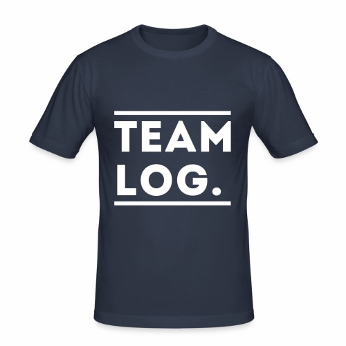 Team Log. - T-shirt près du corps Homme