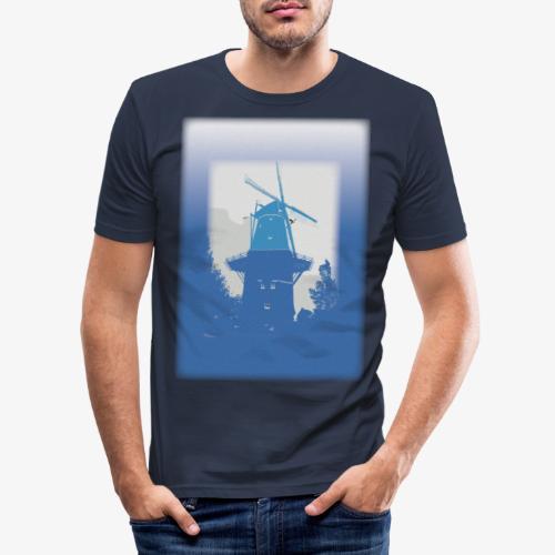 Mills blue - Maglietta aderente da uomo