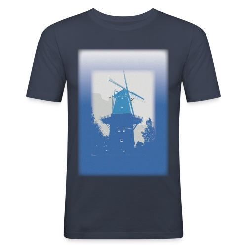 Mills blue - Men's Slim Fit T-Shirt