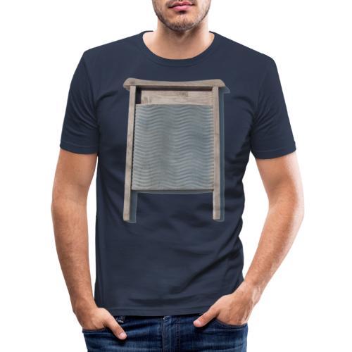 Vaskebræt - sixpack - Herre Slim Fit T-Shirt