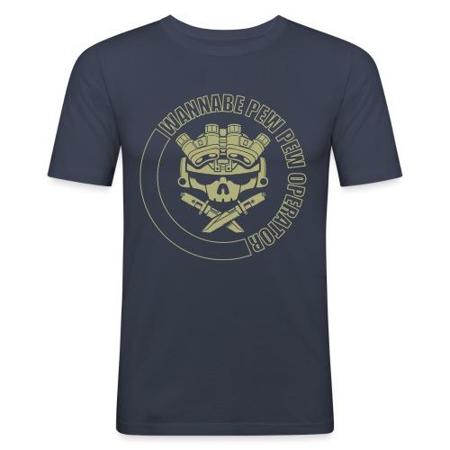 Lights out OD2 WPPO png - Men's Slim Fit T-Shirt