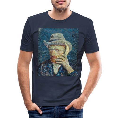 Van Gogh - Men's Slim Fit T-Shirt