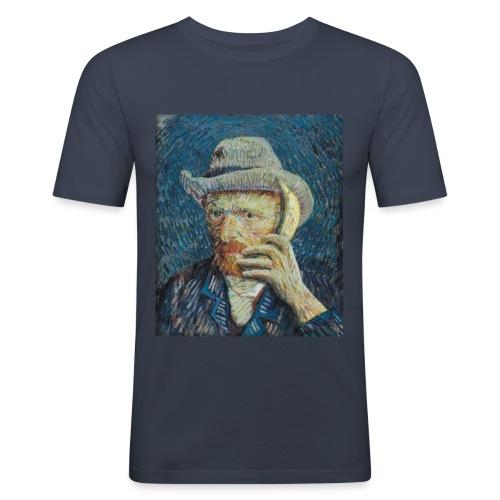 Van Gogh - Mannen slim fit T-shirt