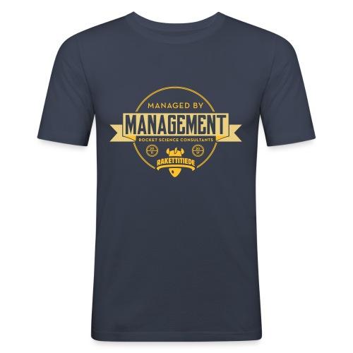 MGMT korjattu - Miesten tyköistuva t-paita