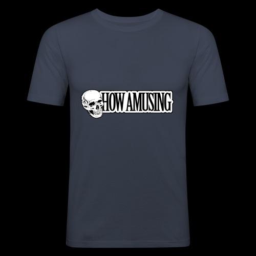 HOW AMUSING - T-shirt près du corps Homme