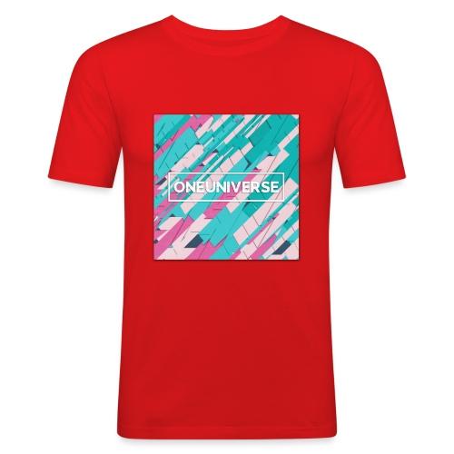 Color Style by One Universe - Maglietta aderente da uomo